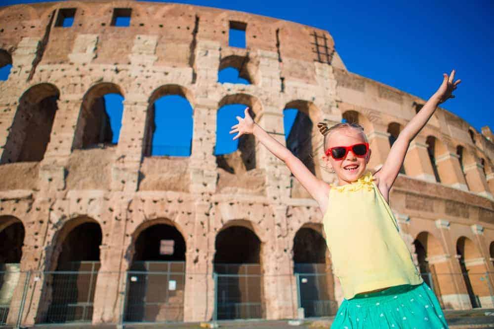 Kids Colosseum Tour