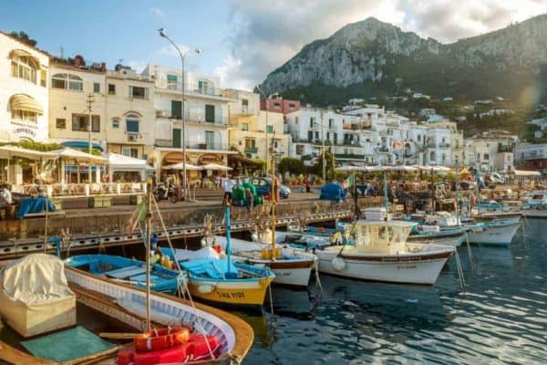 Naples and Capri in a Day Tour